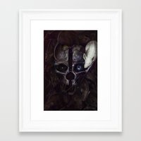 dishonored Framed Art Prints featuring Dishonored by MATT DEMINO