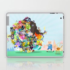 Adventure Time - Land of Ooo Katamari Laptop & iPad Skin