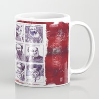 degas Mugs featuring Portraits of artists by Alessandro Andreuccetti