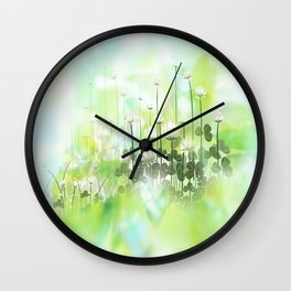 Klee - clover Wall Clock