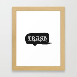 Trailer Trash 2 Framed Art Print