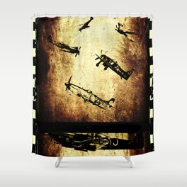 THE LOST SPITFIRES Shower Curtain