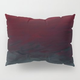 Inverted Fade Crimson Pillow Sham
