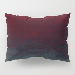 Inverted Fade Crimson Pillow Sham