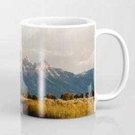 Grand Teton National Park at Sunrise Coffee Mug