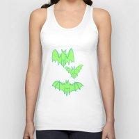 bats Tank Tops featuring Bats by idrewthestars