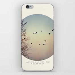 Caged Birds iPhone Skin