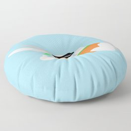 Sun Bun Beached Floor Pillow