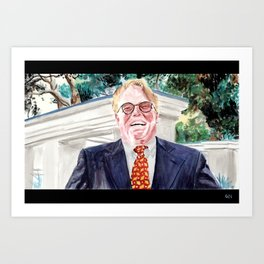 "The Big Lebowski ""Brandt"" Art Print"