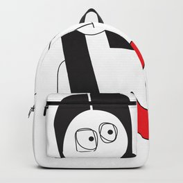 Who Do You Trust with Your Heart Backpack