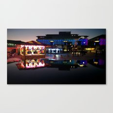 Millenium Square Canvas Print