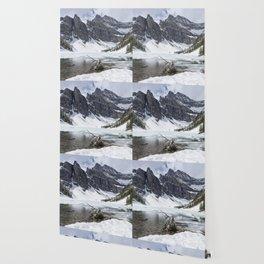 Icy Lake Wallpaper