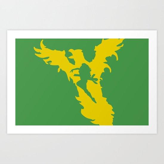 Phoenix Force Art Print