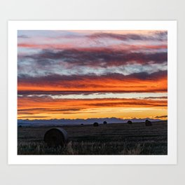 Gallatin Valley Art Print