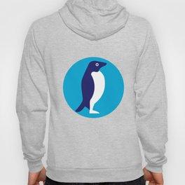 Adelie Penguin Circle Retro Hoody