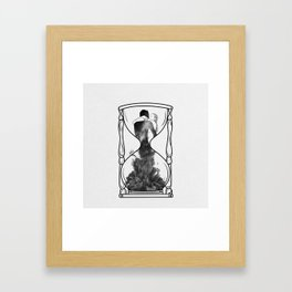 It's our time. Framed Art Print