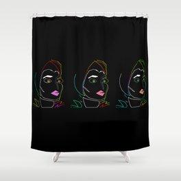 3 Gypsies Shower Curtain