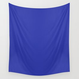 Walmart blue (1992–2008) - solid color Wall Tapestry