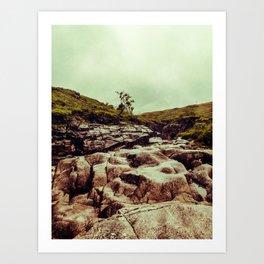 SCOTLAND / Glen Etive, Highlands / 02 Art Print