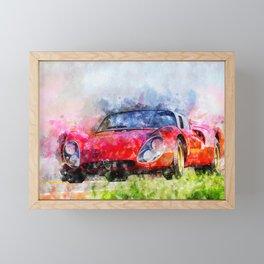 Alfa Tipo 33 Framed Mini Art Print