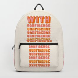 With Confidence Backpack