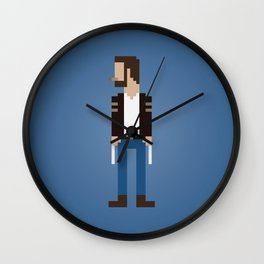 The Man With Metal Claws Wall Clock