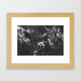 Knotted roots Framed Art Print