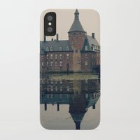 castle iPhone & iPod Cases featuring Castle by DuniStudioDesign