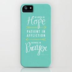 Romans 12:12 iPhone (5, 5s) Slim Case