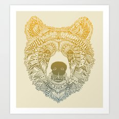 Bear (Savage) Art Print