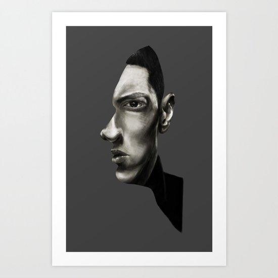 The Marshall Mathers Portrait Art Print