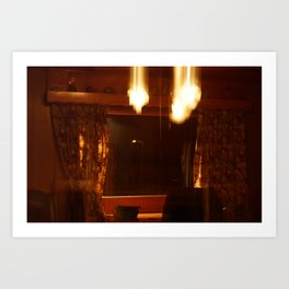 Shutter Flares Art Print