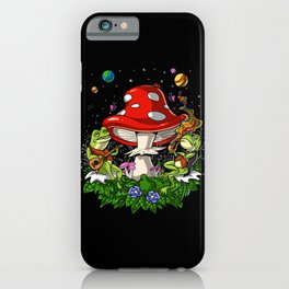 Bufo Alvarius Psychedelic Trip iPhone Case
