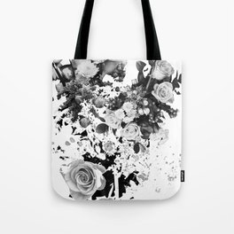 Exploded Frailty Tote Bag