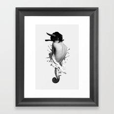 Vaca de Xereca Framed Art Print