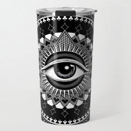The Eye of Providence Travel Mug