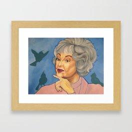 Bea and the Birds Framed Art Print
