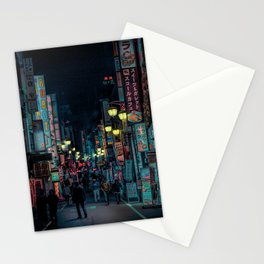 Tokyo Nights / Kabukicho Nights / Liam Wong Stationery Cards
