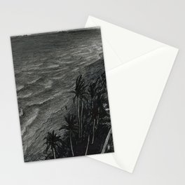 Fort Lauderdale, night Stationery Cards