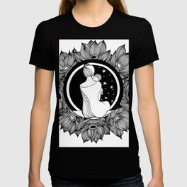 "Inktober, Day 2 ""Tranquil"" #inktober #inktober2018 T-shirt"