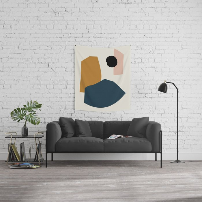 Shape study #1 - Lola Collection Wall Tapestry
