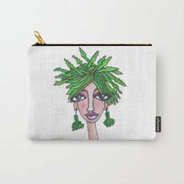 Asparagus Girl Carry-All Pouch