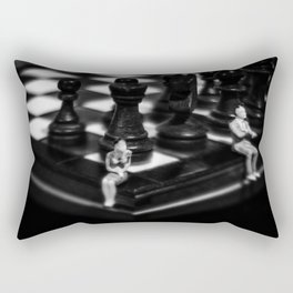 Make a Move Already from the Game of Life Series Chess Rectangular Pillow