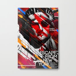 Visions of the Future :: Escape From New York Metal Print
