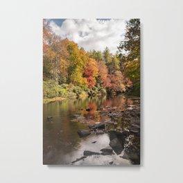 Linville River Metal Print