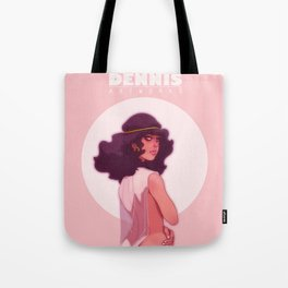 The Girl From Morocco Tote Bag
