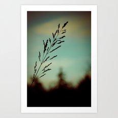 Simple. Art Print