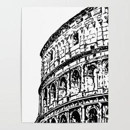 Colosseum, Rome Poster