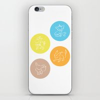 evolution iPhone & iPod Skins featuring Evolution by Emily