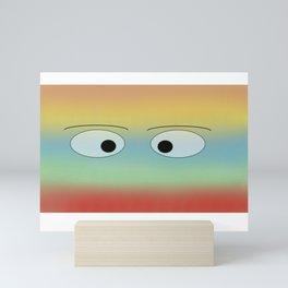 Johnnys Eyes Mini Art Print